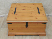 Next wooden coffee table storage / blanket chest (Delivery)