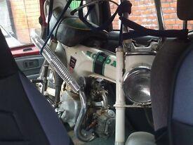 HONDA st70 ladydax unrestored FULL MOT