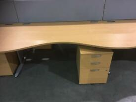 Office desk 1600mm