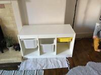 Trofast white IKEA storage unit shelves