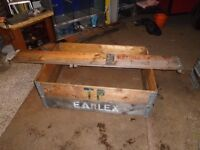 For sale used euro pallet collars for raised beds / allotments / gardens and patios