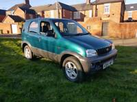 2001 DAIHATSU TERIOS 1.3, 4X4 IDEAL FOR THE BAD WEATHER!!! ONLY 40,000 GENUINE MILES