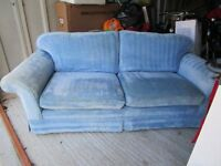 Laura Ashley Duck Egg Blue Sofa