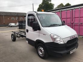 IVECO DAILY 35S15 LWB CHASSIS CAB 62REG FOR SALE