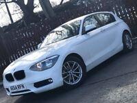 **LOW MILEAGE** 2014 BMW 1 SERIES 116D 12 MONTH MOT FULL BMW SERVICE HISTORY £0 ROAD TAX