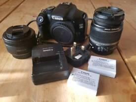 Canon 550D DSLR Body & Lens's