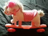 Ride on Dinsey princess 2 in 1 rocker rocking horse