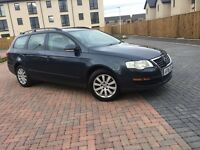 ESTATE 2006 VOLKSWAGEN PASSAT 1.9 TDI(diesel) FULL SERVICE HISTORY-- FULL YEAR MOT -/GOOD CONDITION