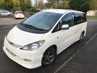 TOYOTA ESTIMA AERAS, 8 SEATER, AUTOMATIC, Extremely LOW MILES only 61k miles, NICE Drive
