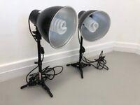 PhotoSEL LS11E22 Studio Lighting Kit - Tabletop 2x26w 1300lm 5500K 90+ CRI Light