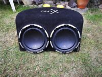 Onyx Twin Subwoofer