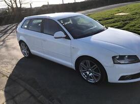 Audi A3 S line sports back 2.0