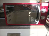Morphy Richards kettle toaster microwave
