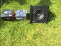 Complete car stereo system including Sub, tweeters, 6x9, head unit