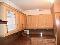 Kitchen Cabinets with shelving