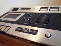 Sony vintage cassette player