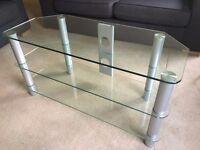 Glass TV Stand £20 ONO