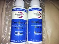 "New - 2 x Minoxidil DualGen-15 PG Plus (1mg finasteride) ""regaine"" best Advance hair loss exp2019"