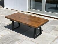 Bespoke hand made coffee table