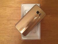 Samsung Galaxy S7 Edge 32GB Platinum Gold UNLOCKED 2 Year Samsung Warranty