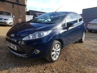 FORD FIESTA ZETEC 1.2- 09 REG 2009 – FINANCE AVAILABLE