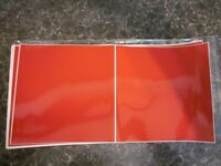 Gloss Dark Red Tile Stickers For Kitchen 150mm x 150mm (6 x 6 Inch) new