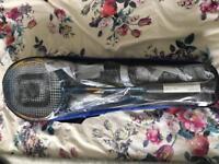 Carbrini 4 person badminton set