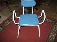 Shower Seat with Arms and Backrest