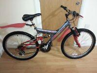 Boys bike with 24 wheel size
