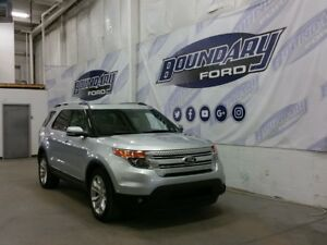 2014 Ford Explorer Limited W/ 4WD, Leather, Intelligent Key