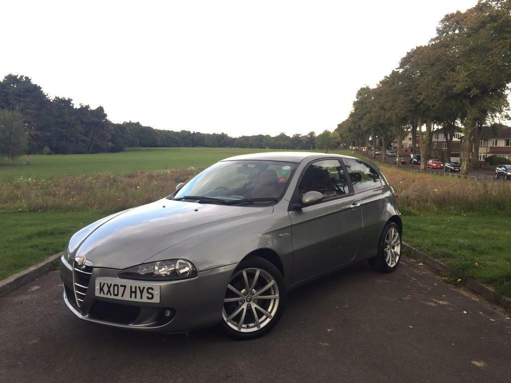 2007 ALFA ROMEO 147 1.9JTD LUSSO DIESEL, 6-SPEED MANUAL, 3-