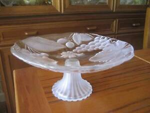 GLASS COMPORT Fruit Bowl SOGA Seaton Charles Sturt Area Preview
