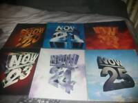 Now that's what I call music vinyl albums 20,21,22,23,24,25