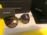 DOLCE & GABBANA Sunglasses BrandNew(Original)Dark brown colour!!!