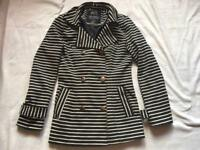 Atmosphere ladies jacket black grey size 10 used £4