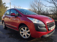 2011 Peugeot 3008 Active 1.6 HDI,Year MOT,New Timing Belt,Serviced