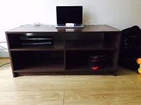 TV Stand - Accomodates upto 48 inch tv - used for only 7 months