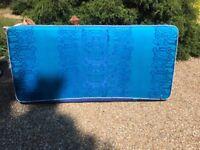 3' Single Mattress Blue - Clean