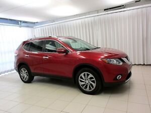 2014 Nissan Rogue 2.5SL AWD SUV W/ LEATHER, NAVIGATION, AND MUCH