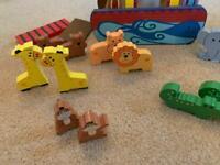 Toy Wooden Noahs Ark