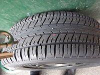 Unused 195/60/15 Spare Wheel