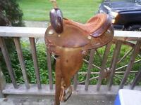 cirlce Y barrel saddle