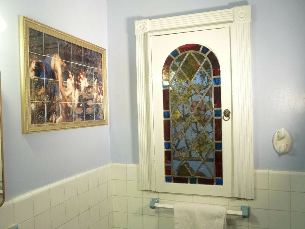 Waterhouse art mural ceramic backsplash bath home decor for Ceramic mural art