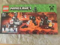 Lego Minecraft set 21126 (unopened)
