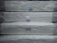 4ft6 double Sumptuous deep quilted cream ortho mattress. 9 inch thick, brand new, Free delivery