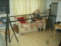 Light Stands Heavy Duty DJ - £30 - Roehampton - Pick Up Only