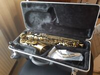 Alto Saxophone with Accessories in Great Condition (Only used a handful of time)