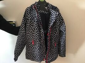 Girl's spotty rain mac - Peter Storm - Suitable for age 9-12