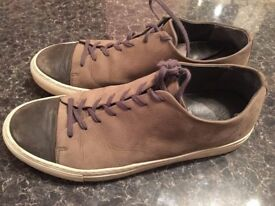 LEATHER ALMOST NEW only £9!!! Size uk 8 - 42