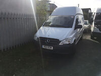 Mercedes Vito 113cdi,Lwb,Hi Top,1 owner,Euro 5,100k miles-warranted,New Mot,Hpi Clear,Noi Vat